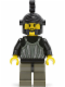Minifig No: cas023  Name: Fright Knights - Knight 1, Black Dragon Helmet, no Plume