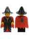Minifig No: cas032  Name: Fright Knights - Witch with Cape