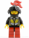 Minifig No: cas034  Name: Knights' Kingdom I - Princess Storm, Female Knight