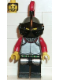 Minifig No: cas036  Name: Knights' Kingdom I - Knight 1, Dark Gray Helmet, Black Visor