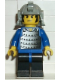 Minifig No: cas054  Name: Ninja - Samurai, Blue Old