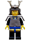 Minifig No: cas056  Name: Ninja - Shogun, Blue with Armor