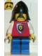 Minifig No: cas064  Name: Royal Knights - Knight 3, Black Neck-Protector