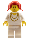 Minifig No: cas076  Name: Classic - Knights Tournament Princess with Necklace