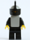 Minifig No: cas085a  Name: Classic - Yellow Castle Knight Black Cavalry