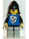 Minifig No: cas103  Name: Black Falcon - Light Gray Legs with Black Hips, Black Neck-Protector
