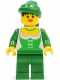 Minifig No: cas122  Name: Forestwoman - Original (Set 6071)