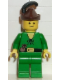 Minifig No: cas127  Name: Forestman - Pouch, Brown Hat, Black Feather