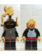Minifig No: cas166  Name: Breastplate - Armor over Black, Dark Gray Helmet, Black Visor, Yellow Dragon Plumes (6086)