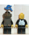 Minifig No: cas173  Name: Breastplate - Armor over Black, Black Helmet, Dark Gray Visor, Blue 3-Feather Plume (6059)
