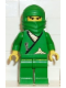 Minifig No: cas203  Name: Ninja - Green