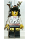Minifig No: cas206  Name: Ninja - Shogun, White