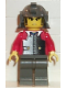 Minifig No: cas210  Name: Ninja - Samurai, Red Young