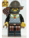 Minifig No: cas247  Name: Knights' Kingdom I - Knight 2, with Quiver