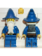 Minifig No: cas249  Name: Dragon Knights - Majisto Wizard, Black Plastic Cape