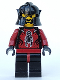 Minifig No: cas257  Name: Knights Kingdom II - Shadow Knight, Le Chevalier Des Ombres