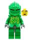 Minifig No: cas261  Name: Knights Kingdom II - Rascus with Armor, Plain Torso