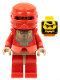 Minifig No: cas267  Name: Knights Kingdom II - Santis with Gold Pattern Armor, Dark Tan Hands