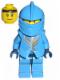 Minifig No: cas268  Name: Knights Kingdom II - Jayko Plain Torso, Gold Pattern Armor, Dark Blue Hips