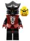 Minifig No: cas270  Name: Knights Kingdom II - Shadow Knight Vladek, Dark Red Armor