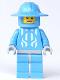 Minifig No: cas276  Name: Knights Kingdom II - Jayko Printed Torso, Broad Brim Helmet, Elderly Face (Chess Pawn)