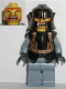Minifig No: cas293  Name: Knights Kingdom II - Karzon
