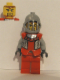 Minifig No: cas303  Name: Breastplate - Armor over Light Bluish Gray, Royal Knight