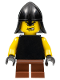 Minifig No: cas307  Name: Blacksmith - Short Legs (10176)