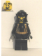 Minifig No: cas308  Name: Breastplate - Armor over Black, Cheek Protection Helmet (Evil Knight)