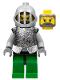 Minifig No: cas316  Name: Knights Kingdom II - Hero Knight 3 (8813)