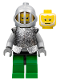 Minifig No: cas317  Name: Knights Kingdom II - Hero Knight 4 (8813)