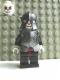 Minifig No: cas331  Name: Fantasy Era - Skeleton Warrior 5, White, Speckled Breastplate and Helmet, Dark Red Hips and Black Legs