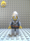 Minifig No: cas343  Name: Fantasy Era - Crown Knight Scale Mail with Crown, Helmet with Neck Protector, White Moustache and Beard