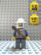Minifig No: cas344  Name: Fantasy Era - Crown Knight Scale Mail with Chest Strap, Helmet with Broad Brim, Dual Sided Head, Dark Bluish Gray Legs Quiver