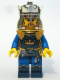 Minifig No: cas422  Name: Fantasy Era - Crown King, No Cape, Printed Legs (7097)