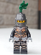 Minifig No: cas452  Name: Kingdoms - Dragon Knight Armor with Chain, Helmet Closed, Scowl