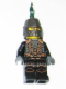 Minifig No: cas453  Name: Kingdoms - Dragon Knight Scale Mail with Chains, Helmet Closed, Bared Teeth