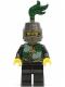 Minifig No: cas454  Name: Kingdoms - Dragon Knight Quarters, Helmet Closed, Long Brown Moustache