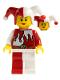 Minifig No: cas480  Name: Kingdoms - Jester, Female