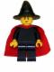Minifig No: cas484  Name: Witch - Plain with Cape