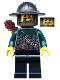 Minifig No: cas488  Name: Kingdoms - Dragon Knight Scale Mail with Chain and Belt, Helmet with Broad Brim, Quiver