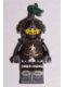 Minifig No: cas495  Name: Kingdoms - Dragon Knight Armor with Chain, Helmet with Visor, Beard
