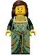 Minifig No: cas503  Name: Kingdoms - Green Princess
