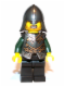 Minifig No: cas507  Name: Kingdoms - Dragon Knight Armor with Chain, Helmet with Neck Protector (Chess Bishop)