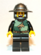 Minifig No: cas508  Name: Kingdoms - Dragon Knight Quarters, Helmet with Broad Brim, Missing Tooth (Chess Pawn)