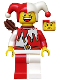 Minifig No: cas512  Name: Kingdoms - Jester with Quiver (Chess Knight)