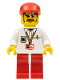 Minifig No: cc4058  Name: Cameraman, Red Legs, Red Cap