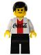 Minifig No: cc4449  Name: Soccer Player Coca-Cola Defender 4