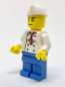 Minifig No: chef024  Name: Chef - Fishmonger