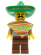 Minifig No: col017  Name: Mariachi / Maraca Man - Minifig only Entry